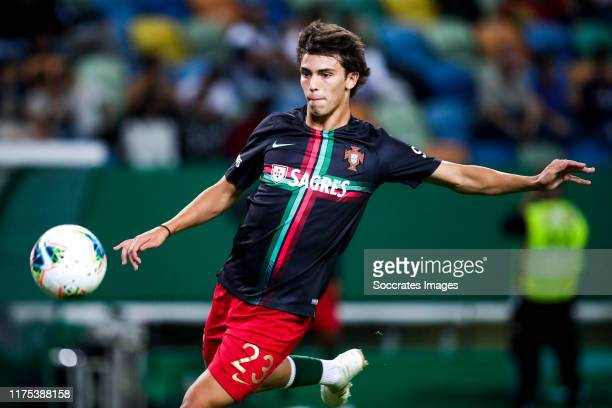 Joao Felix of Portugal during the UEFA Nations league match between Portugal v Luxembourg at the Estádio José Alvalade on October 11 2019 in Lisboa...