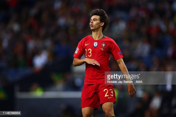 Joao Felix of Portugal during the UEFA Nations League Semi-Final match between Portugal and Switzerland at Estadio do Dragao on June 5, 2019 in...
