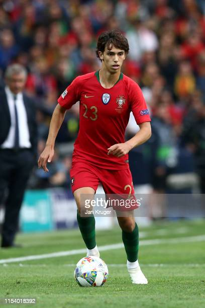 Joao Felix of Portugal in action during the UEFA Nations League SemiFinal match between Portugal and Switzerland at Estadio do Dragao on June 05 2019...