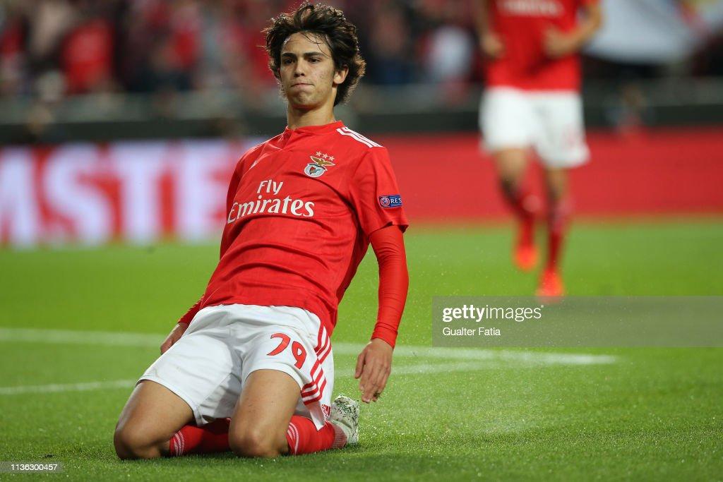 SL Benfica v Eintracht Frankfurt - UEFA Europa League Quarter Final - First Leg : News Photo