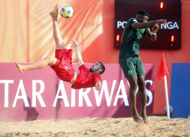 PRY: Portugal v Nigeria - FIFA Beach Soccer World Cup Paraguay 2019