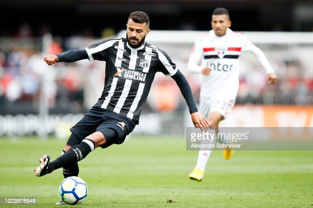 Joao Lucas of Ceara in action during the match against Sao Paulo for the Brasileirao Series A 2018 at Morumbi Stadium on August 26, 2018 in Sao...