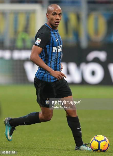 Joao Mario of FC Internazionale Milano in action during the Serie A match between FC Internazionale and AC Chievo Verona at Stadio Giuseppe Meazza on...