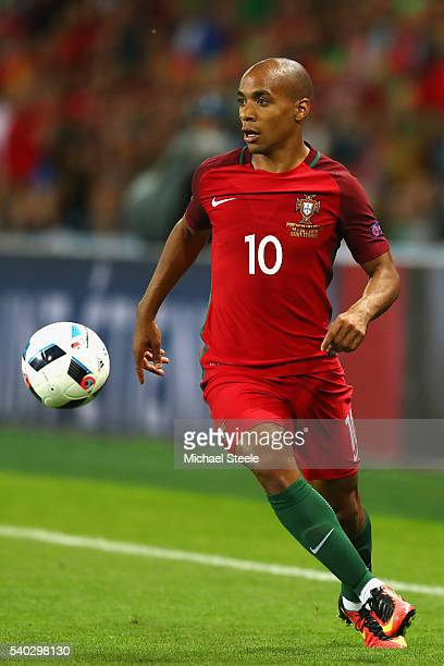 Joao Mario of Portugal during the UEFA EURO 2016 Group F match between Portugal and Iceland at Stade GeoffroyGuichard on June 14 2016 in SaintEtienne...