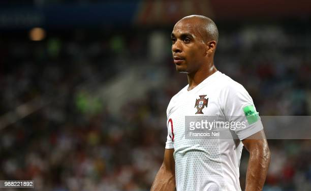 Joao Mario of Portugal looks on during the 2018 FIFA World Cup Russia Round of 16 match between Uruguay and Portugal at Fisht Stadium on June 30 2018...
