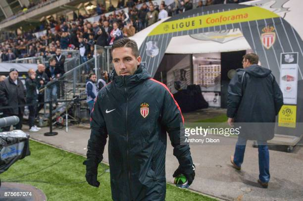Joao Moutinho of Monaco during the Ligue 1 match between Amiens SC and AS Monaco at Stade de la Licorne on November 17 2017 in Amiens