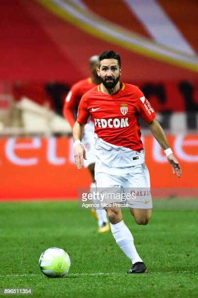 Joao Moutinho of Monaco during the Ligue 1 match between AS Monaco and Stade Rennais at Stade Louis II on December 20 2017 in Monaco