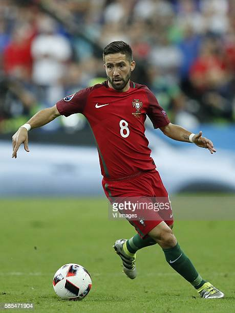 Joao Moutinho of Portugal during the UEFA EURO 2016 final match between Portugal and France on July 10 2016 at the Stade de France in Paris France