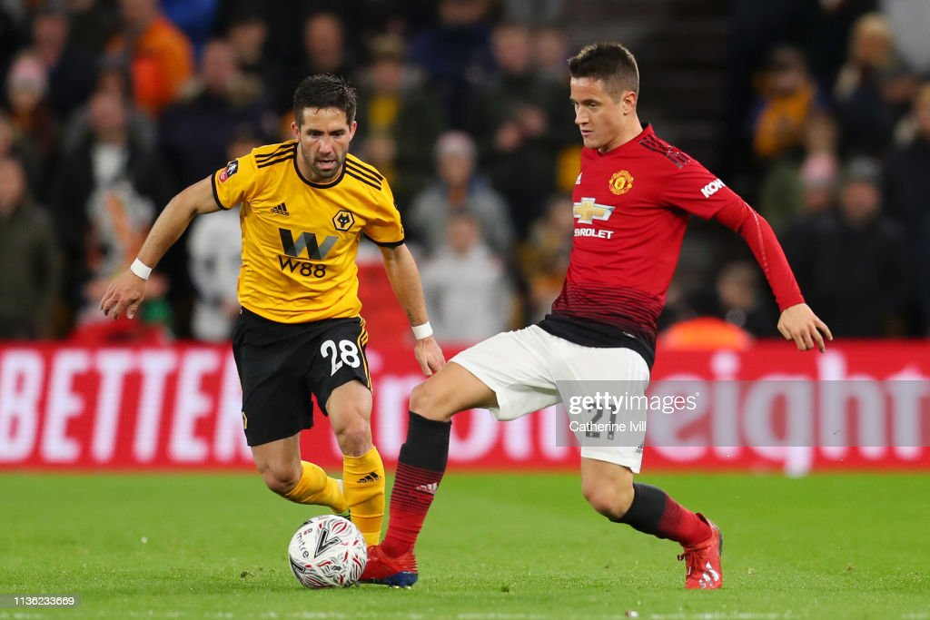 Wolverhampton Wanderers v Manchester United - FA Cup Quarter Final : News Photo