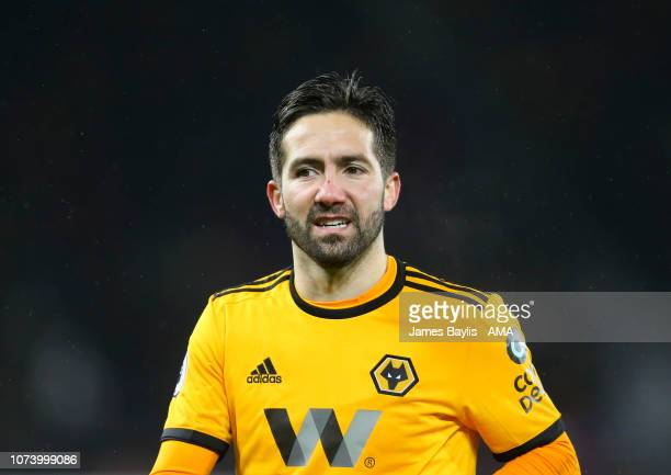 Joao Moutinho of Wolverhampton Wanderers during the Premier League match between Wolverhampton Wanderers and AFC Bournemouth at Molineux on December...