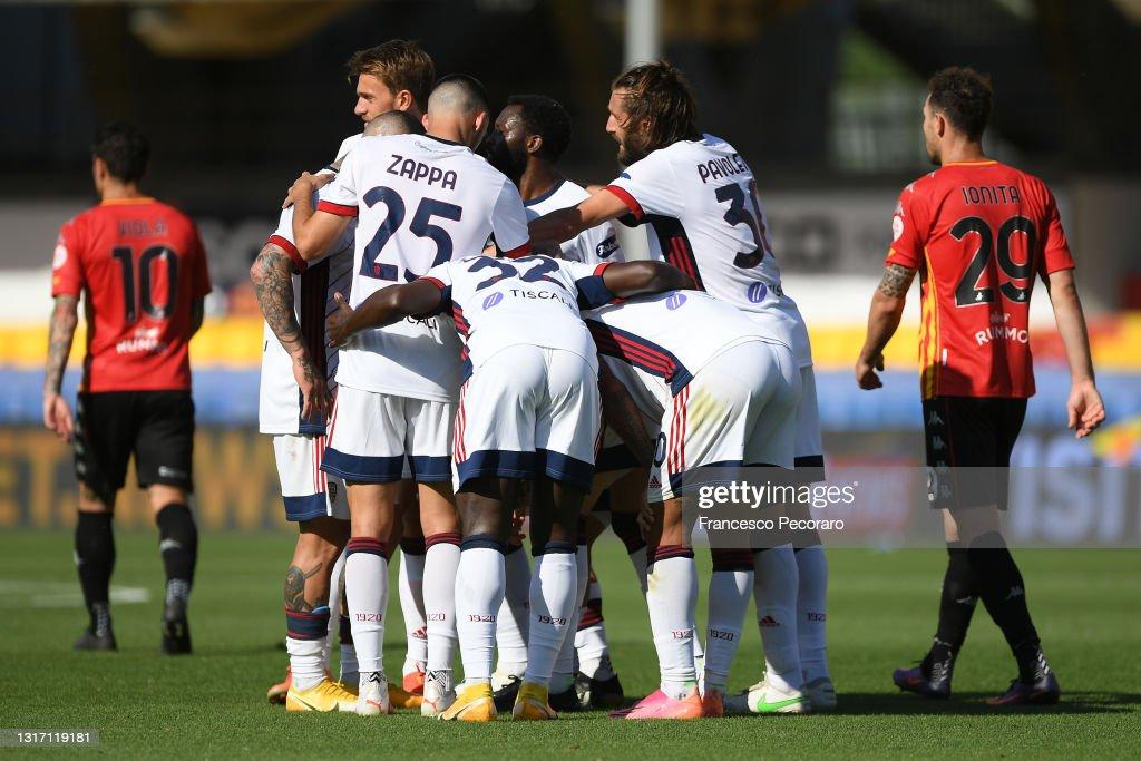 Benevento Calcio v Cagliari Calcio - Serie A : ニュース写真