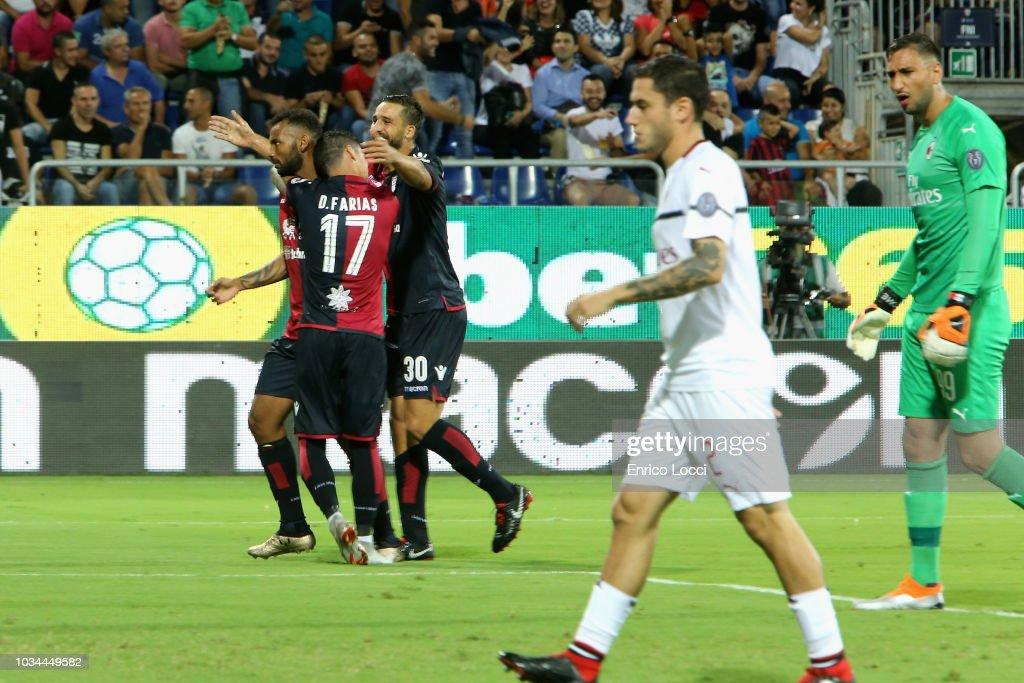 Cagliari v AC Milan - Serie A : News Photo