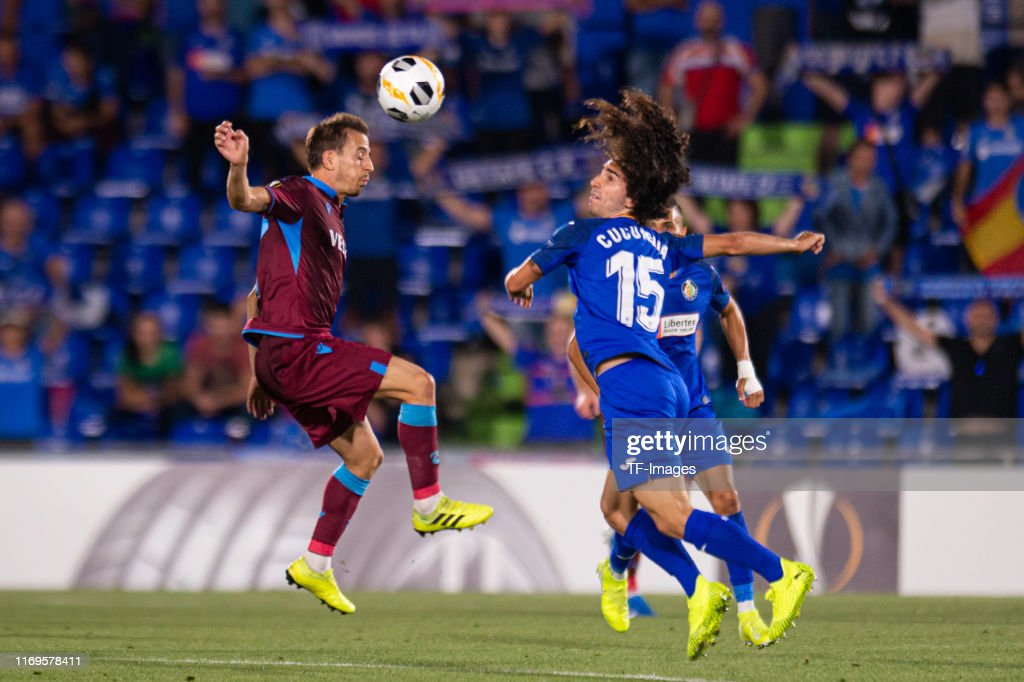 Getafe CF v Trabzonspor: Group C - UEFA Europa League : News Photo