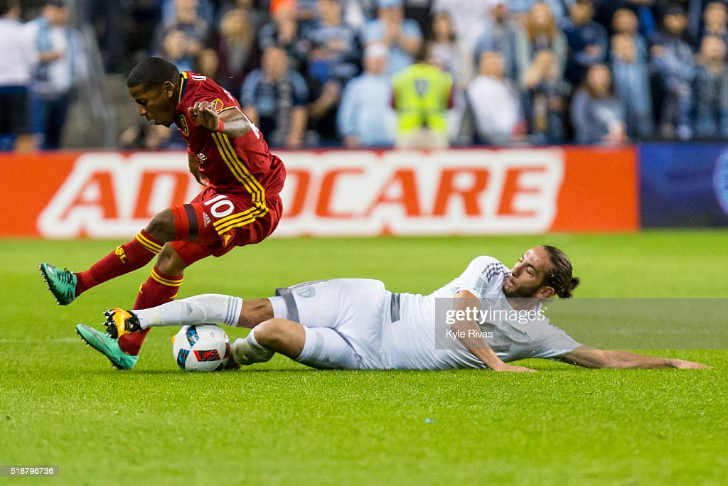 Real Salt Lake v Sporting Kansas City : News Photo