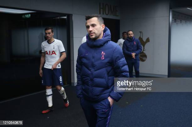Joao Sacramento Assistant Head Coach of Tottenham Hotspur during the FA Cup Fifth Round match between Tottenham Hotspur and Norwich City at Tottenham...