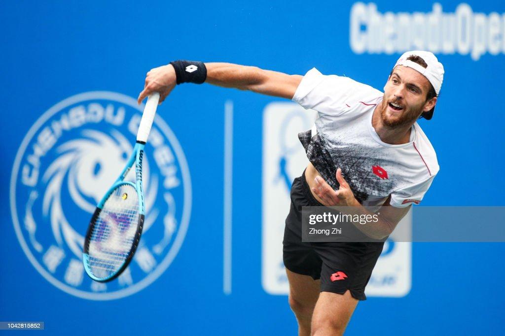 ATP World Tour Chengdu Open - Semi Finals : News Photo