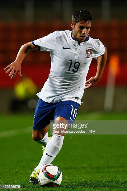 Joao Vigario of Portugal in action during the FIFA U20 World Cup New Zealand 2015 Group C match between Qatar and Portugal held at Waikato Stadium on...