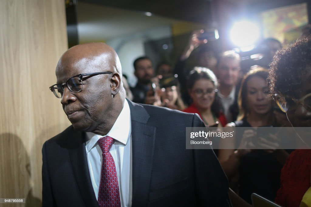Brazil's Former Supreme Court Chief Justice Joaquim Barbosa Eyes Presidential Run