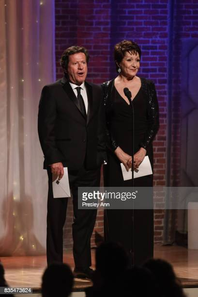 Joaquim de Almeida and Ivonne Coll attend 32nd Annual Imagen Awards Inside at the Beverly Wilshire Four Seasons Hotel on August 18 2017 in Beverly...
