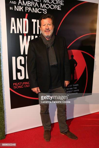 Joaquim de Almeida attends the premiere of And The Winner Isn't at Laemmle Music Hall on December 8 2017 in Beverly Hills California