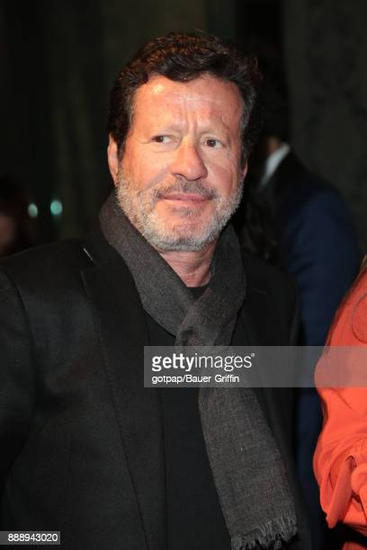 Joaquim de Almeida is seen on December 08 2017 in Los Angeles California