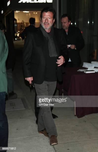 Joaquim de Almeida is seen on December 8 2017 in Los Angeles CA