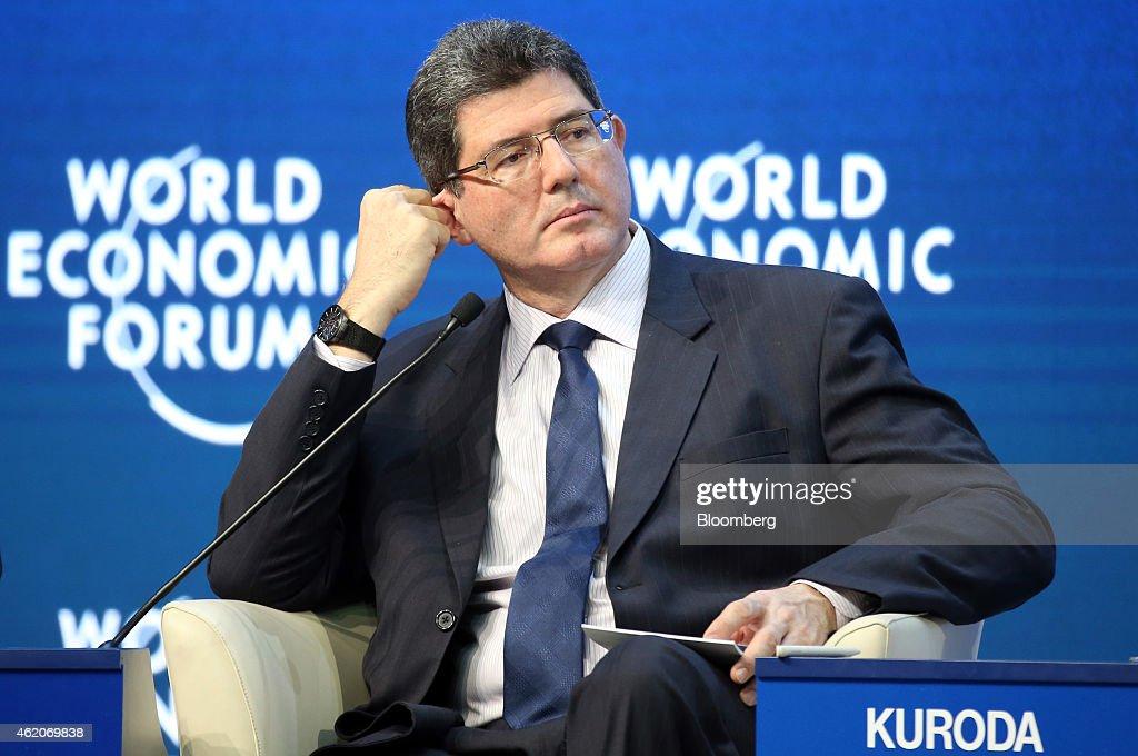 The Davos World Economic Forum 2015 : News Photo