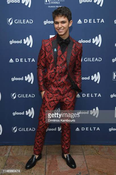 Joaquin Bondoni attends the 30th Annual GLAAD Media Awards New York at New York Hilton Midtown on May 04 2019 in New York City
