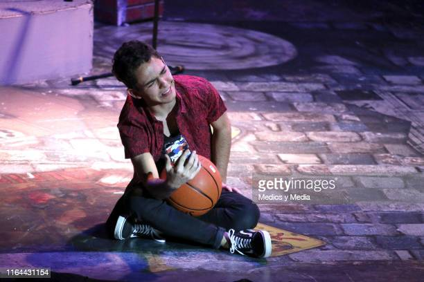 Joaquin Bondoni performs during the 'Aristemo' Musical on July 26 2019 in Mexico City Mexico