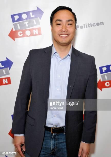 Joaquin Castro at Politicon at Pasadena Convention Center on July 30 2017 in Pasadena California