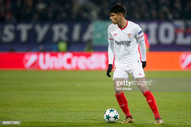 Joaquin Correa of FC Sevilla during Group E football match between NK Maribor and FC Sevilla in 6th Round of UEFA Champions League on December 6 2017...