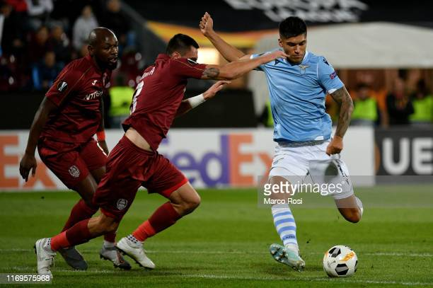 Joaquin Correa of SS Lazio in action during the UEFA Europa League group E match between CFR Cluj and Lazio Roma at Dr.-Constantin-Radulescu-Stadium...
