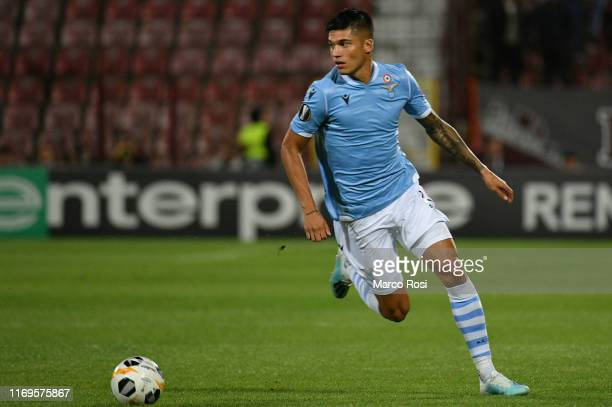 Joaquin Correa of SS Lazio in action of SS Lazio in action during the UEFA Europa League group E match between CFR Cluj and Lazio Roma at...