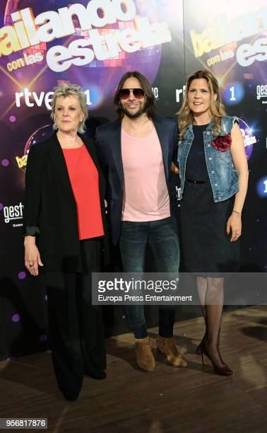 Joaquin Cortes attends 'Bailando Con Las Estrellas' TVE photocall on May 9 2018 in Madrid Spain