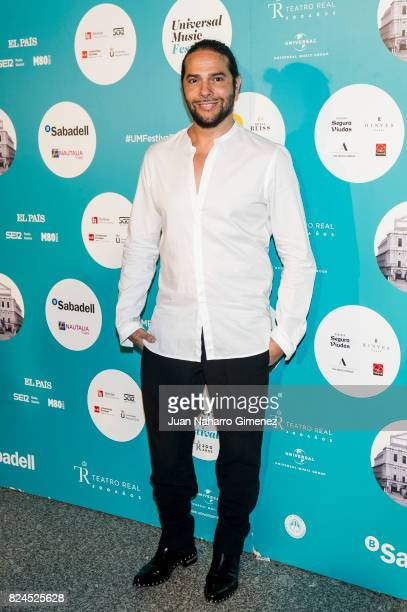 Joaquin Cortes attends Luis Fonsi concert at the Royal Theatre on July 30, 2017 in Madrid, Spain.