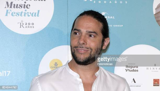 Joaquin Cortes attends the Luis Fonsi Universal Music Festival concert at The Royal Theater on July 30, 2017 in Madrid, Spain.