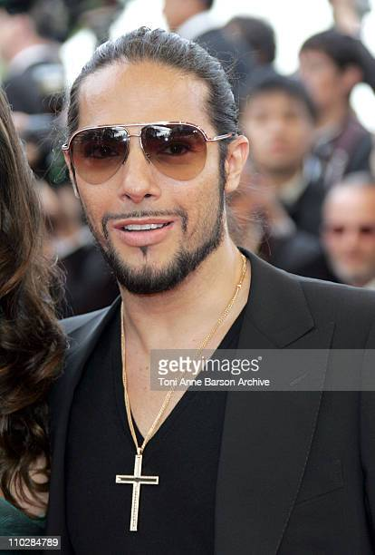 """Joaquin Cortes during 2006 Cannes Film Festival - """"Over The Hedge"""" - Premiere at Palais des Festival in Cannes, France."""