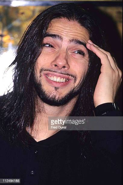 """Joaquin Cortes during Joaquin Cortes Promoting """"Gypsy Passion"""" Video - October 1, 1996 at Virgin Megastore in London, United Kingdom."""