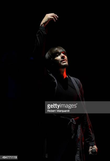 Joaquin Cortes is seen during rehearsal for his latest theatre production 'Gitano' at the Teatre Tivoli on May 30, 2014 in Barcelona, Spain.