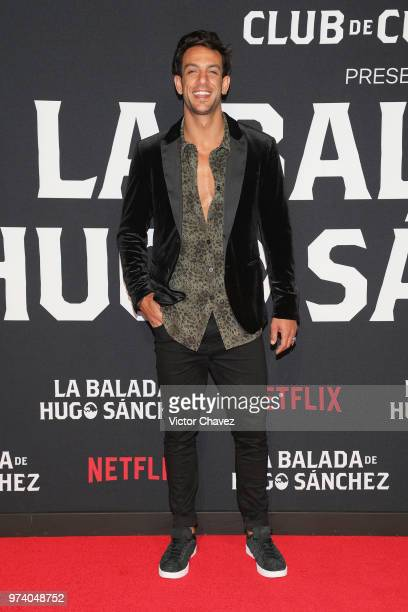 Joaquin Ferreira attends Netflix 'La Balada de Hugo Sanchez' special screening at Alboa Patriotismo on June 13 2018 in Mexico City Mexico