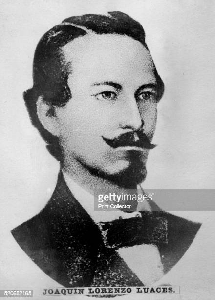 Joaquin Lorenzo Luaces this great poet was born in Havana in 1826 Printed his famous book of poems in 1857 including the patriotic composition 'The...