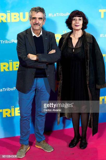 Joaquin Oristrell attends 'La Tribu' premiere at the Capitol cinema on March 12 2018 in Madrid Spain