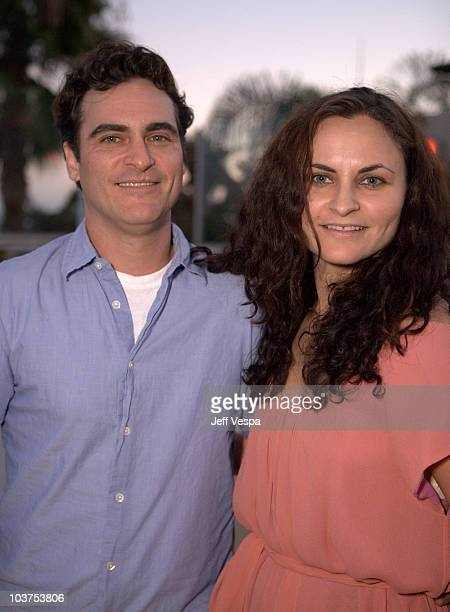 Joaquin Phoenix and Rain Phoenix attend the Youth Promise Act benefit held at the Sunset Tower on August 31 2010 in West Hollywood California