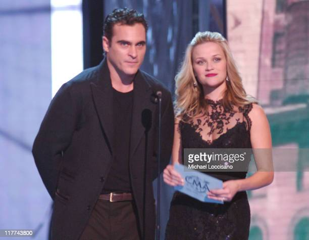Joaquin Phoenix and Reese Witherspoon presenters Single of the Year