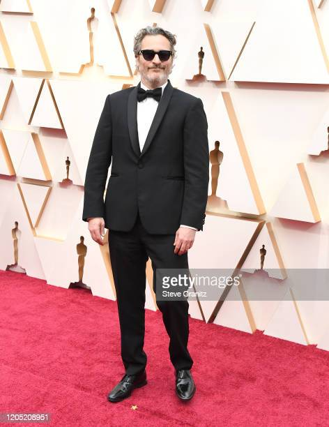 Joaquin Phoenix arrives at the 92nd Annual Academy Awards at Hollywood and Highland on February 09 2020 in Hollywood California