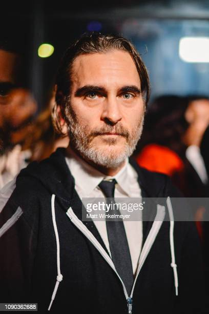 Joaquin Phoenix attends Michael Muller's HEAVEN, presented by The Art of Elysium on January 05, 2019 in Los Angeles, California.