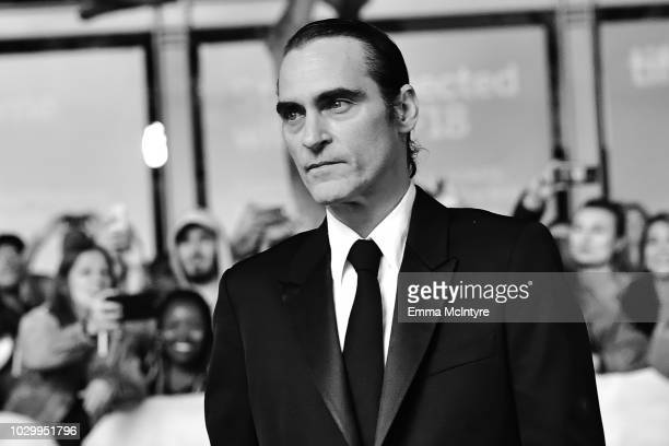 Joaquin Phoenix attends the 2018 Toronto International Film Festival The Sisters Brothers premiere at Princess of Wales Theatre on September 8 2018...