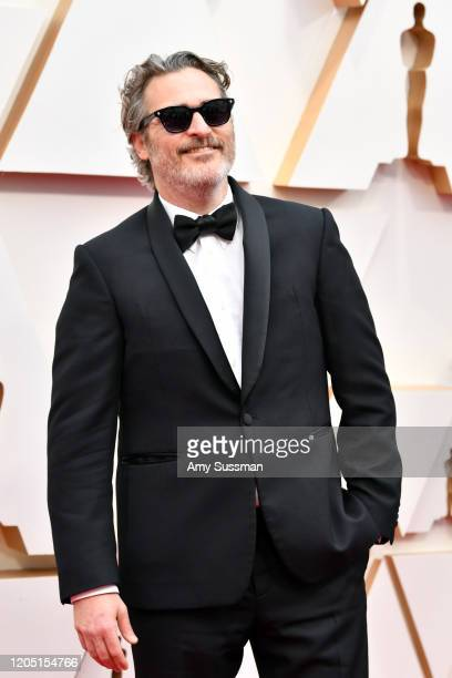Joaquin Phoenix attends the 92nd Annual Academy Awards at Hollywood and Highland on February 09 2020 in Hollywood California