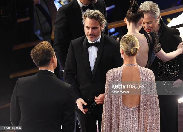 Joaquin Phoenix attends the 92nd Annual Academy Awards at Hollywood and Highland on February 09, 2020 in Hollywood, California.