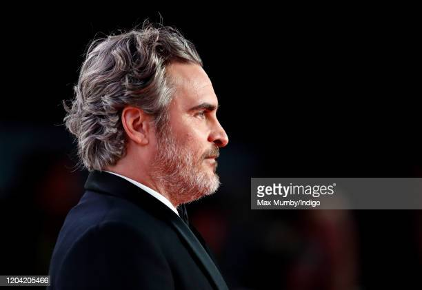 Joaquin Phoenix attends the EE British Academy Film Awards 2020 at the Royal Albert Hall on February 2 2020 in London England